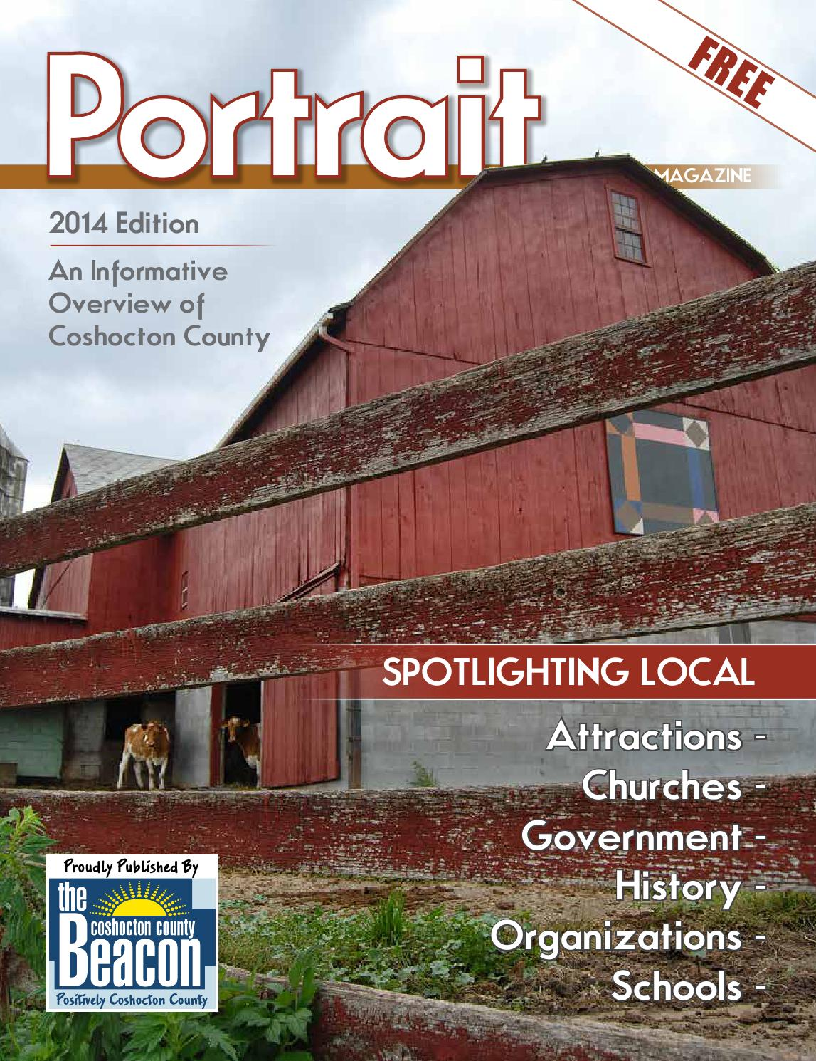 Portrait Magazine 2014 Edition By The Coshocton County Beacon