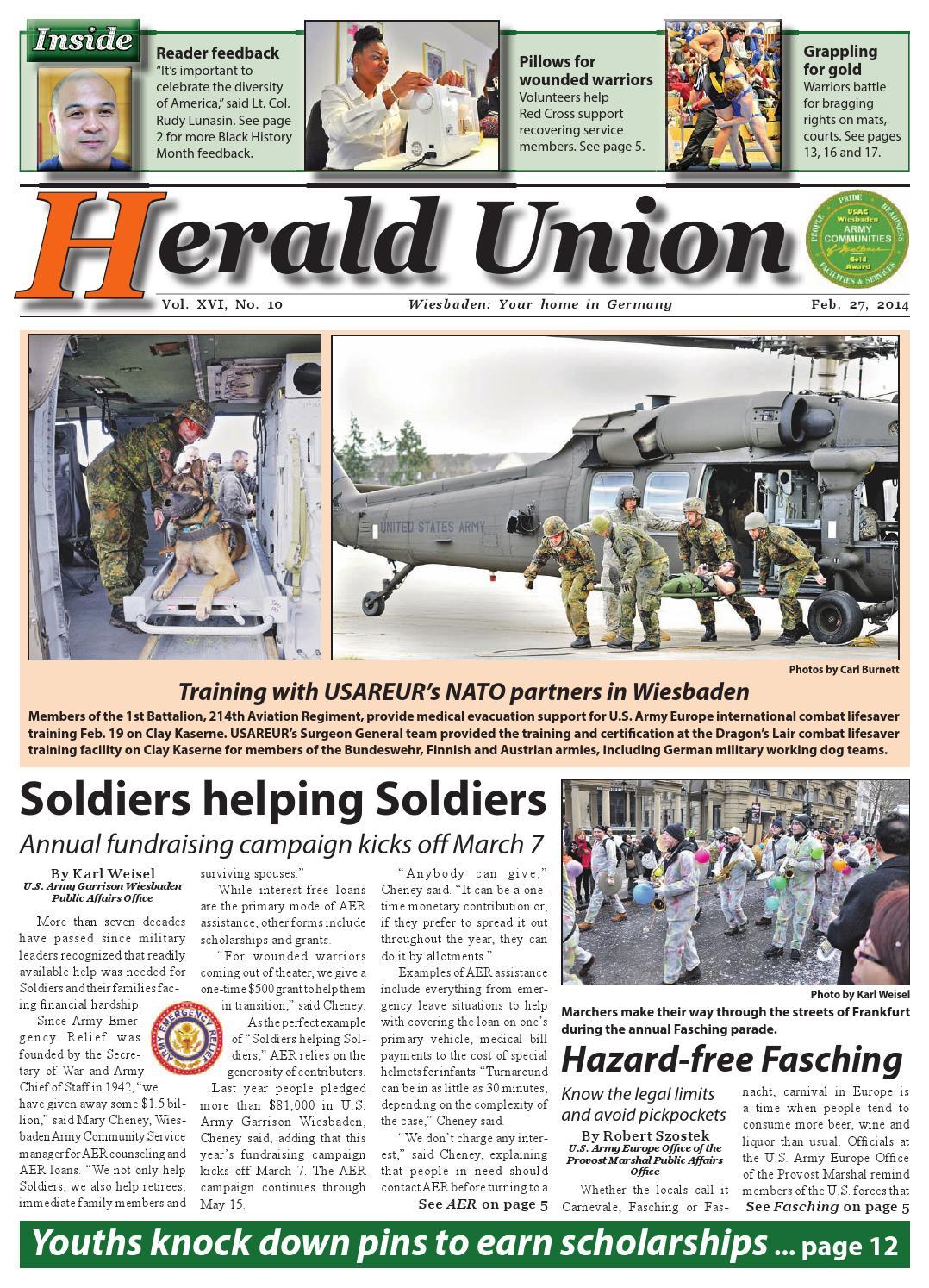 6b9ab185b Herald Union, Feb. 27, 2014 by AdvantiPro GmbH - issuu