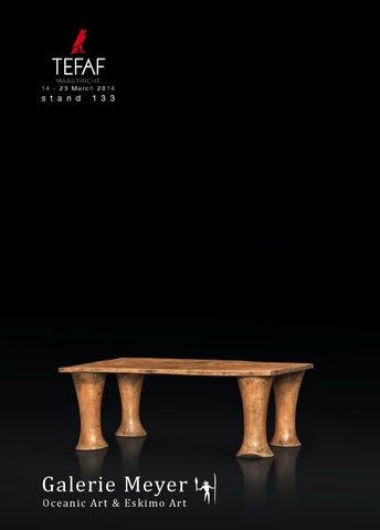 Galerie Meyer Oceanic Eskimo Art Catalogue For Tefaf