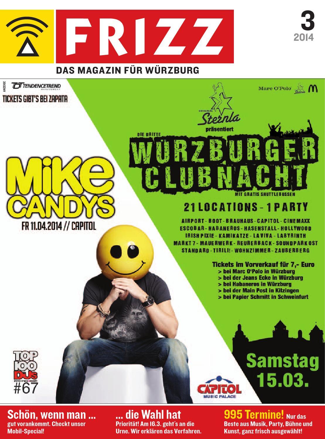 Frizz Wurzburg 03 14 By Frizz Das Magazin Wurzburg Issuu