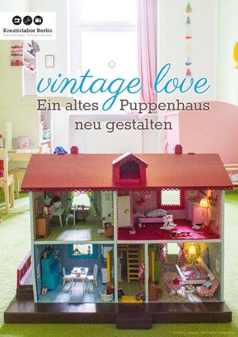 vintage love ein altes puppenhaus neu gestalten by kreativlaborberlin issuu. Black Bedroom Furniture Sets. Home Design Ideas