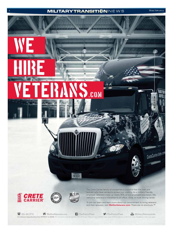 Military Transition News March April 2014 Transportation