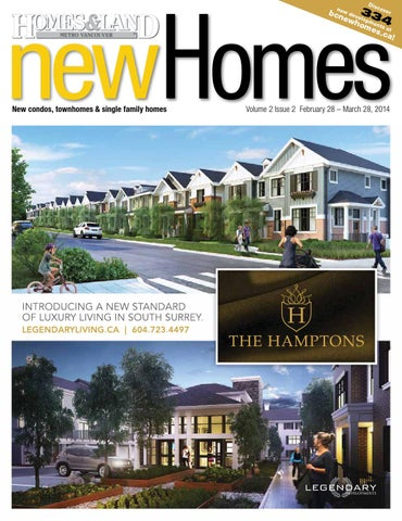 February 28 March 28 2014 Issue Of New Homes Magazine