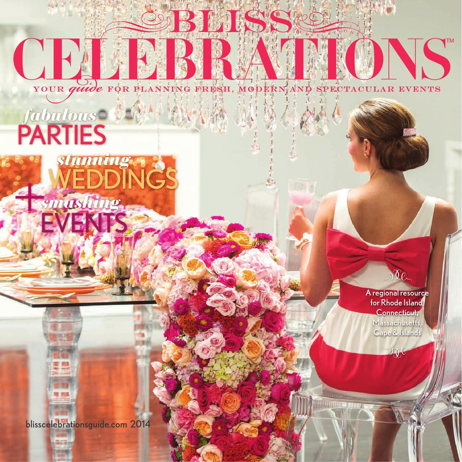 BLISS CELEBRATIONS GUIDE 2014 By Bliss Publications   Issuu