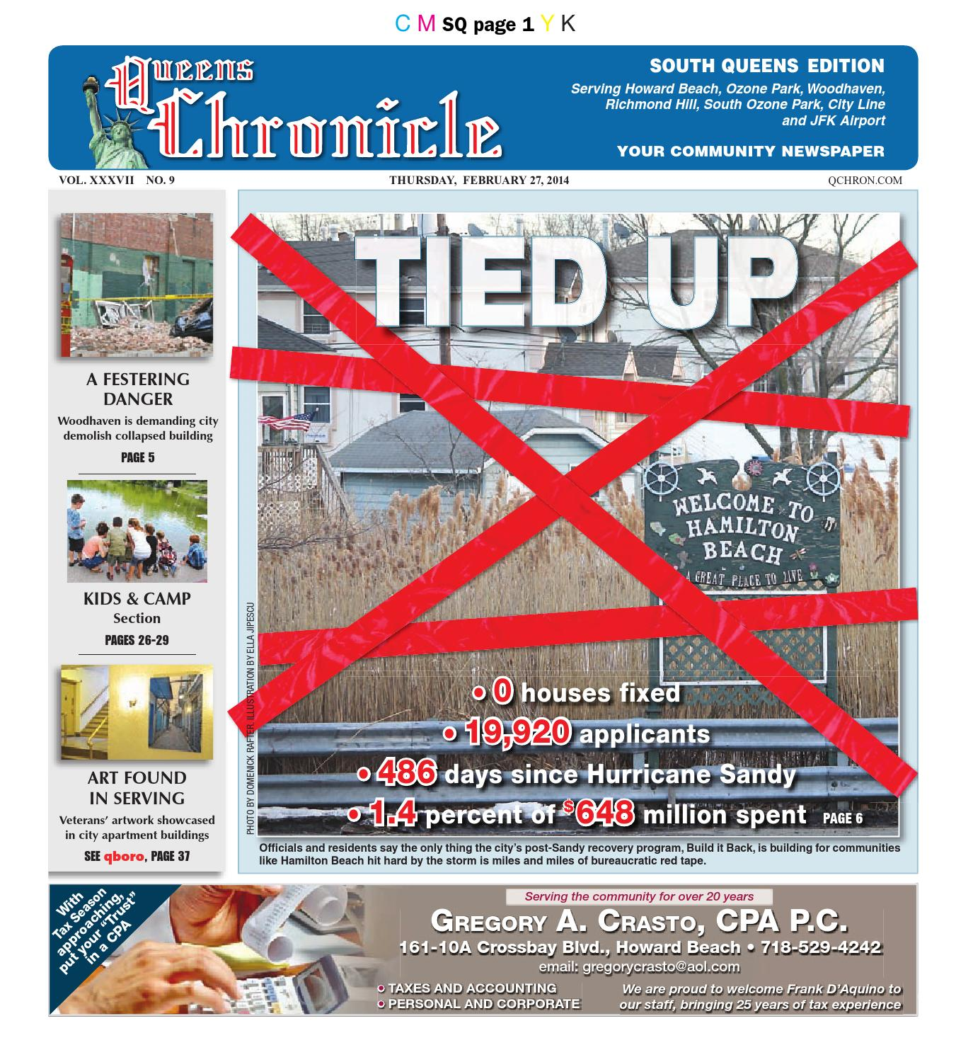 Queens Chronicle South Edition 02-27-14 by Queens Chronicle