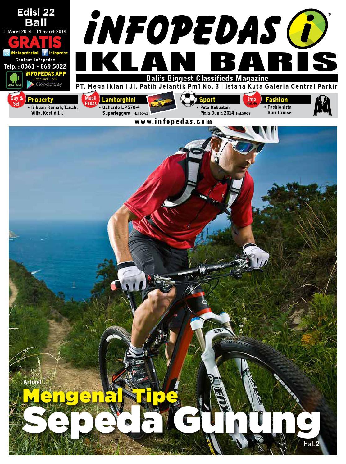 Majalah Infopedas Edisi 22 By Pedas Issuu Tiang Rem C70 Gl Force 1 Grand