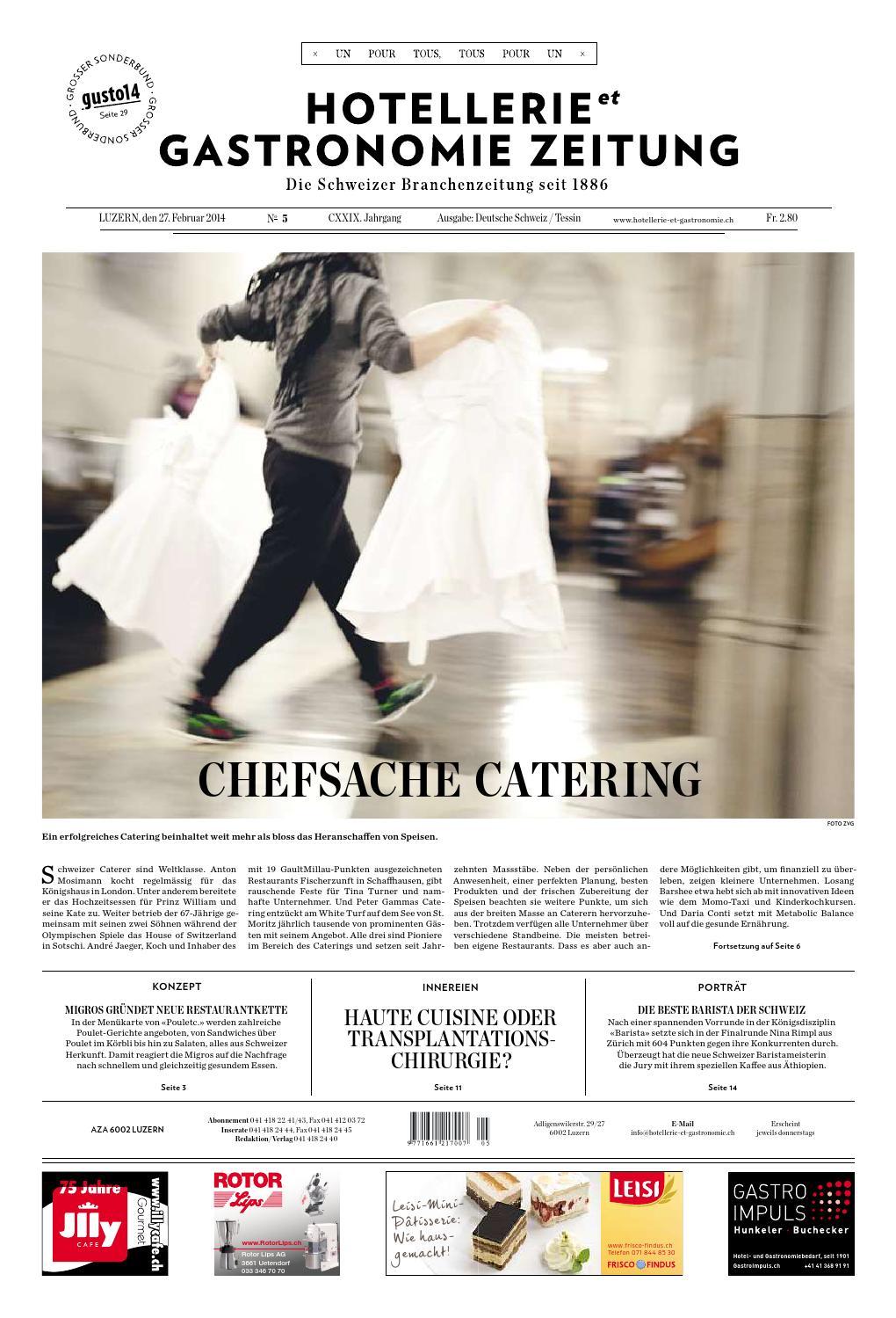 Exceptional HetG Zeitung 5/2014 By Hotellerie_Gastronomie_Verlag   Issuu