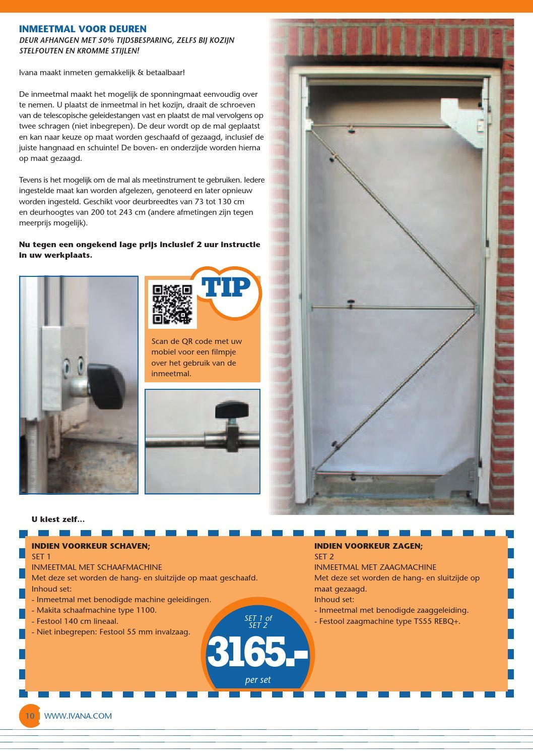 Ivana bulletin maart 2014 by ivana issuu for Inmeetmal voor deuren
