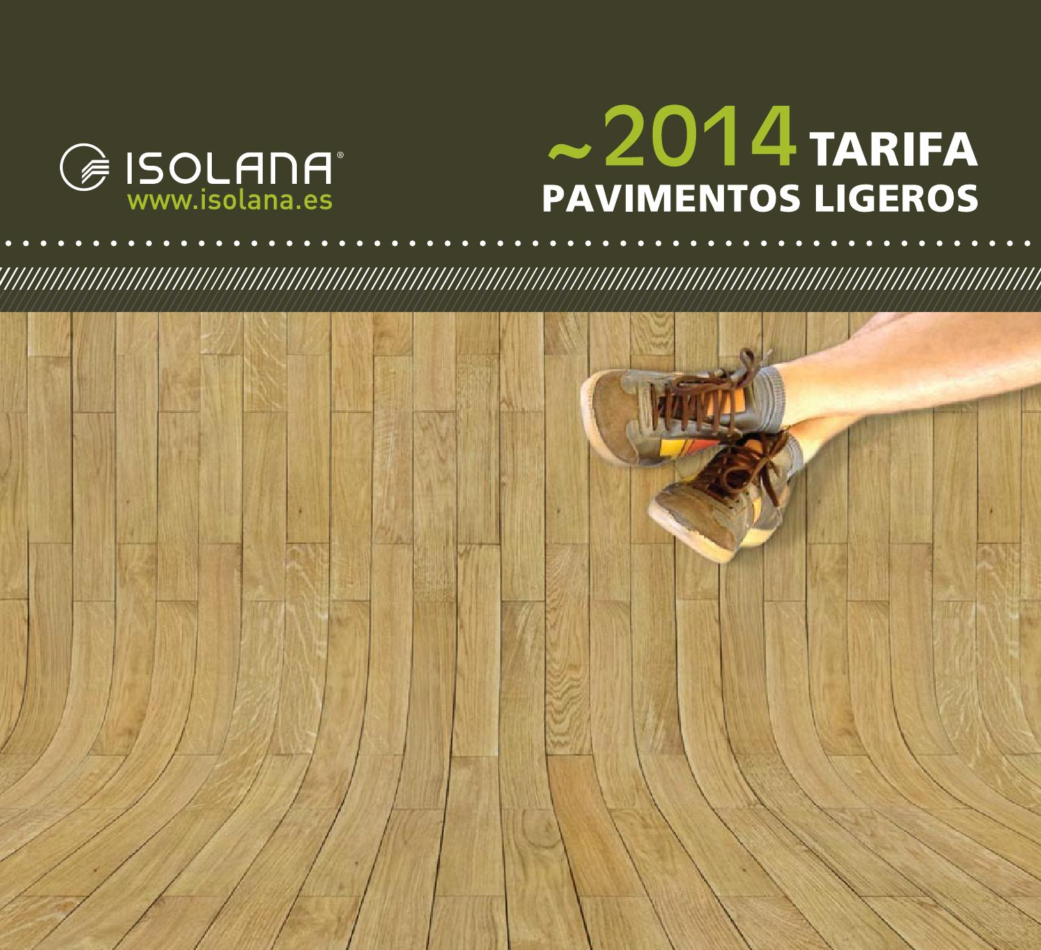 Tarifa suelos 2014 by marketing isolana issuu for Suelos laminados kronoswiss