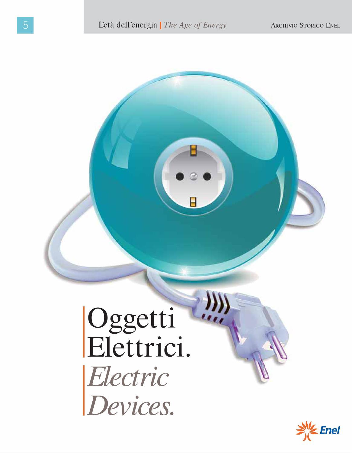 Schemi Elettrici Lesa : Oggetti elettrici electric devices by enel spa issuu