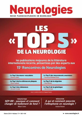 15 rencontre de neurologie