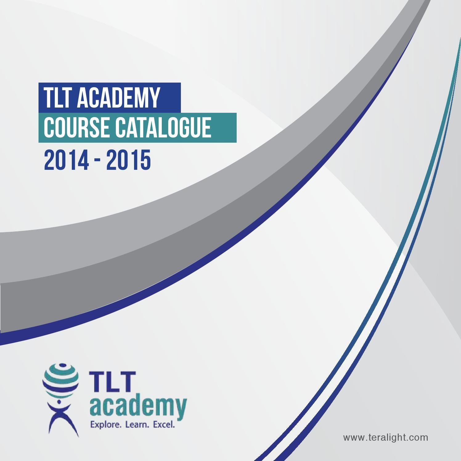 Tlt academy course catalogue by teralight issuu 1betcityfo Images