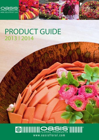 2013-2014 Product Guide - English by OASIS® Floral Products - issuu 1d103f1b8df5