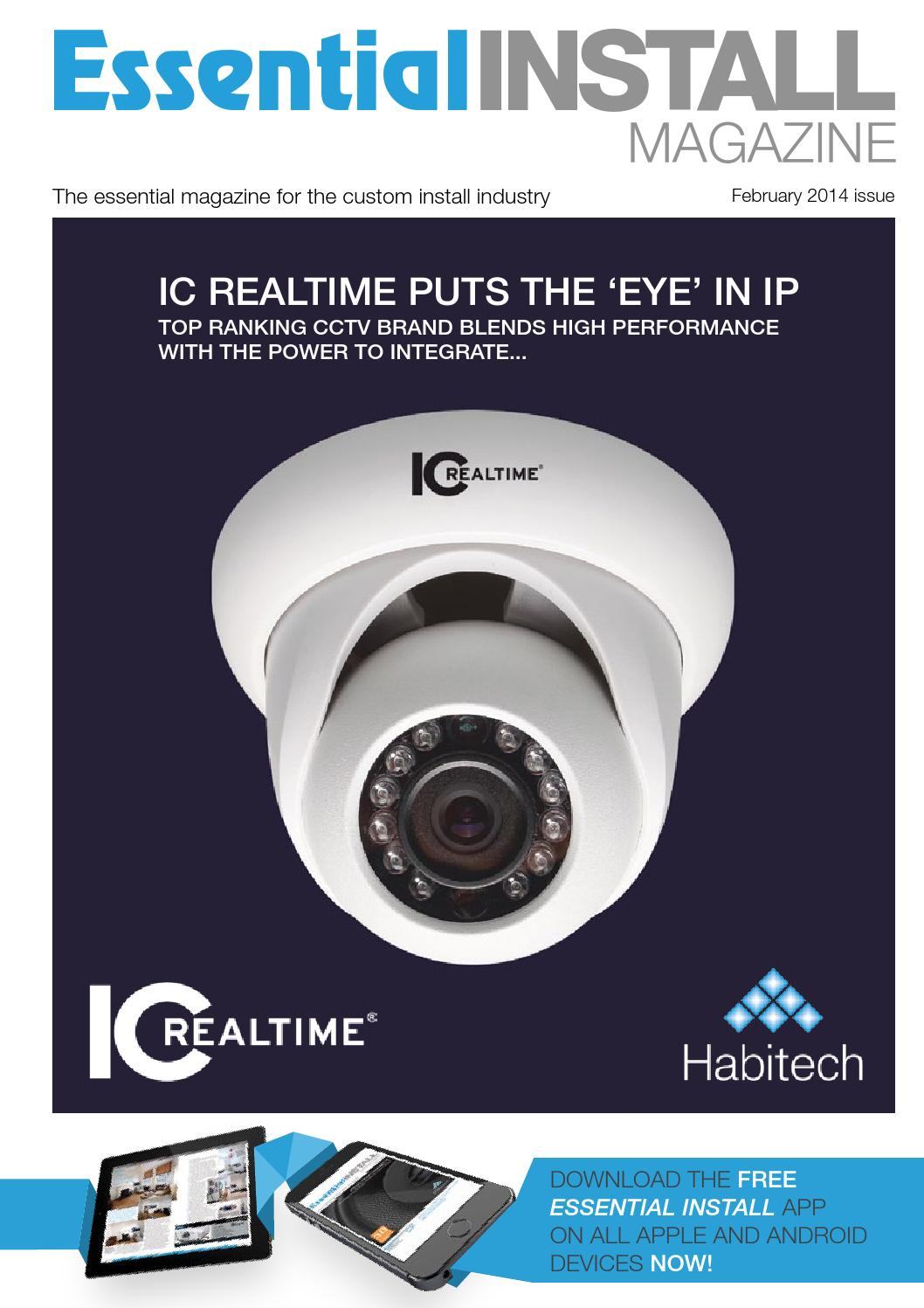 Essential Install February 2014 Issue By Issuu The Rako Wireless Dimming Controls In Detail Ceiling Inline And
