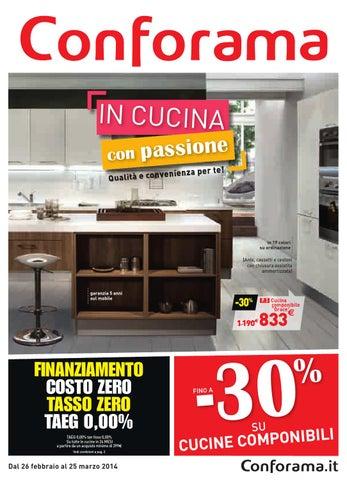 Tavoli E Sedie Da Cucina Conforama.Conforama Cucina Che Passione By Mobilpro Issuu