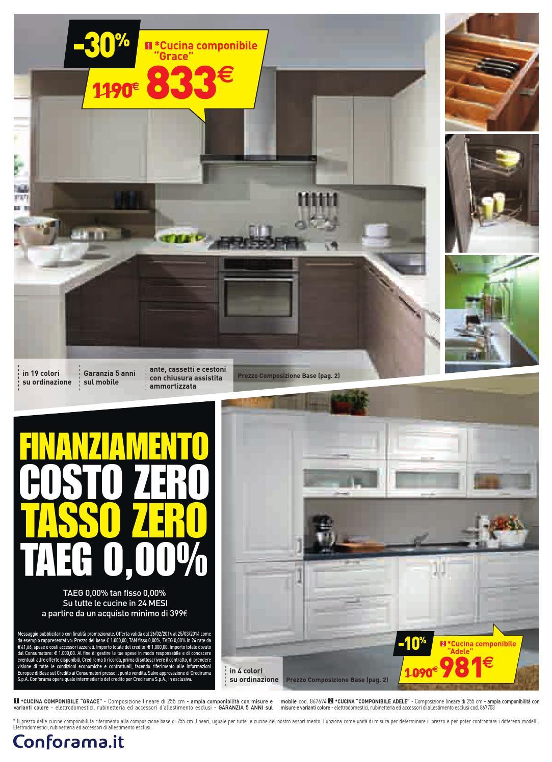 Conforama cucina che passione by Mobilpro - issuu