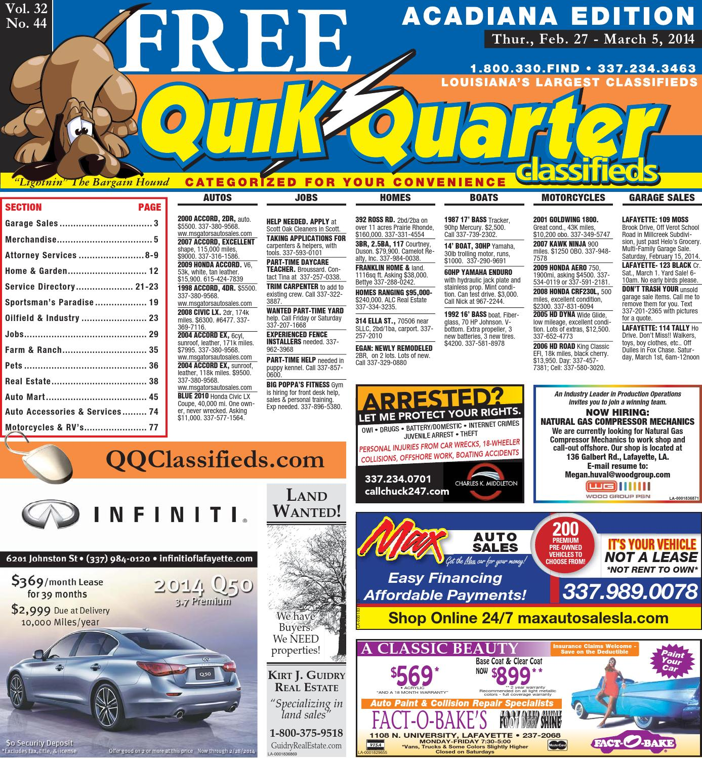QQAcadiana 02 27 2014 by Part of the USA TODAY NETWORK issuu