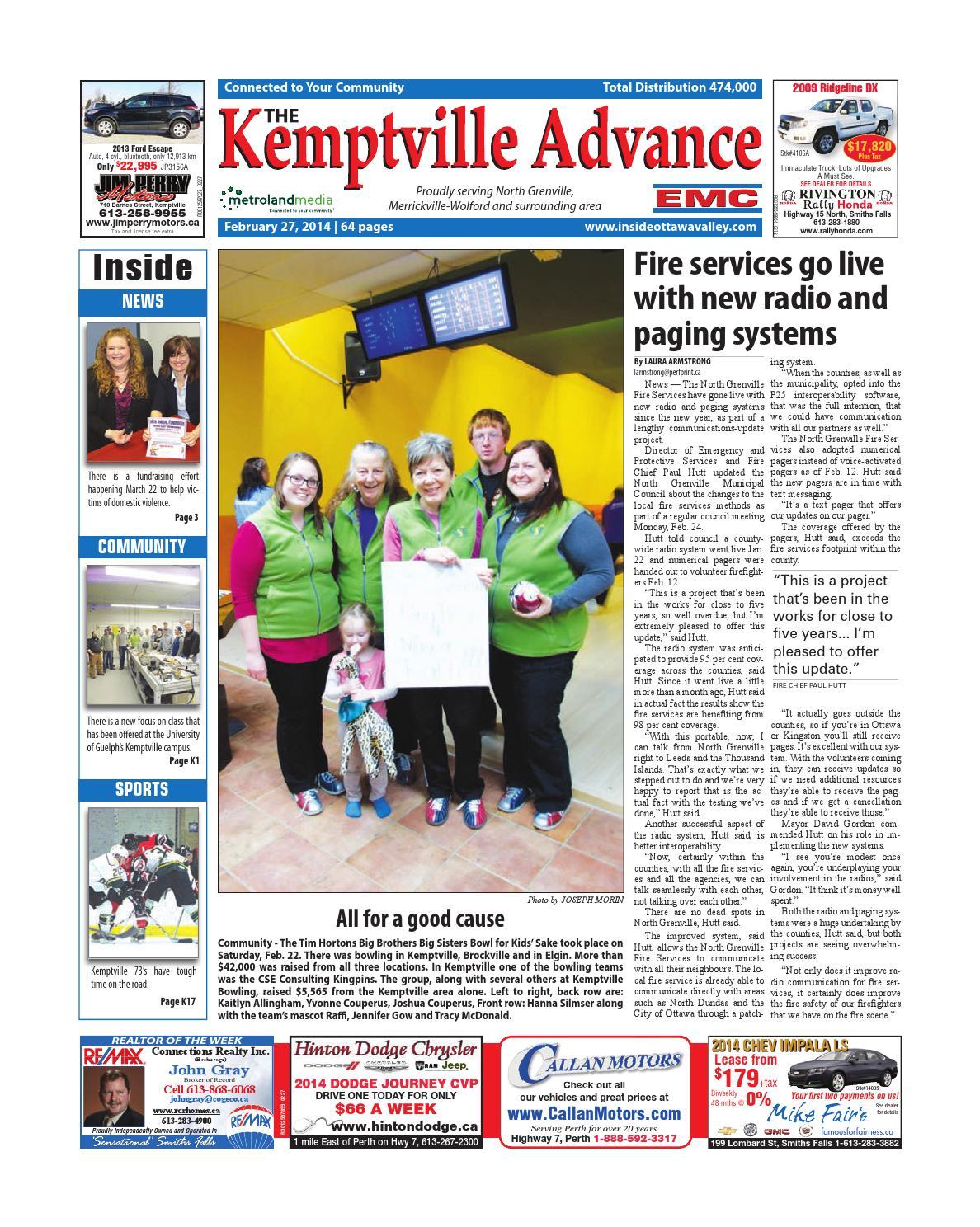 Kemptville022714 By Metroland East Kemptville Advance Issuu Wiring Diagrams Information Sbo Community