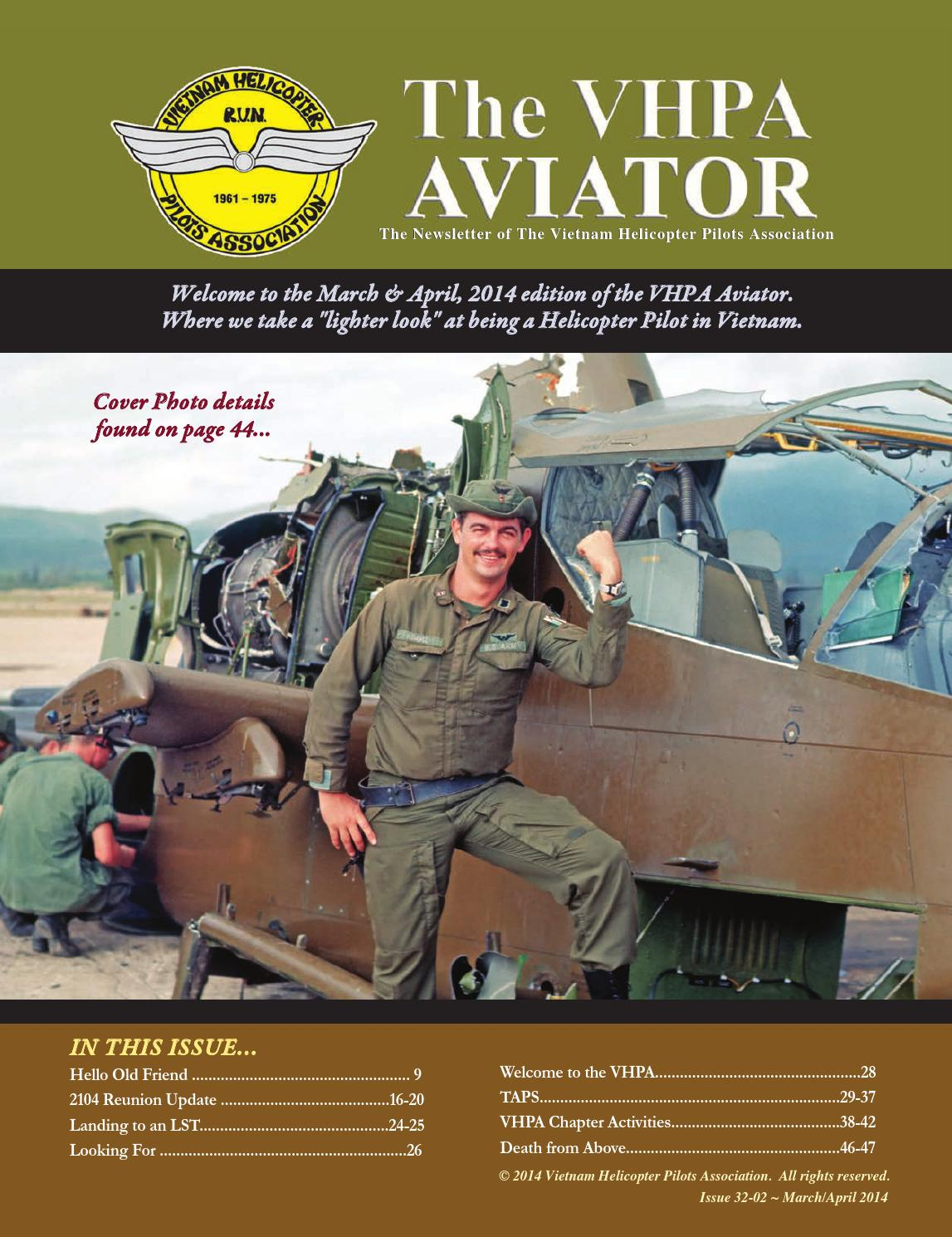 174th ahc 2015 reunion - The Vhpa Aviator March April 2014