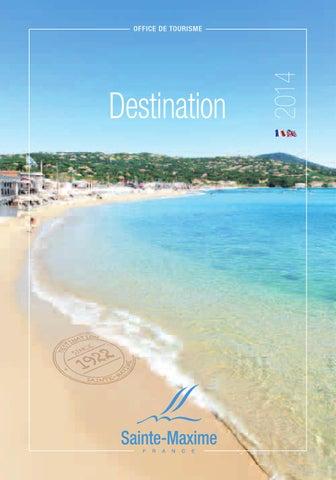 Brochure destination 2014 fr eng by office de tourisme de sainte maxime issuu - Office de tourisme saintes ...