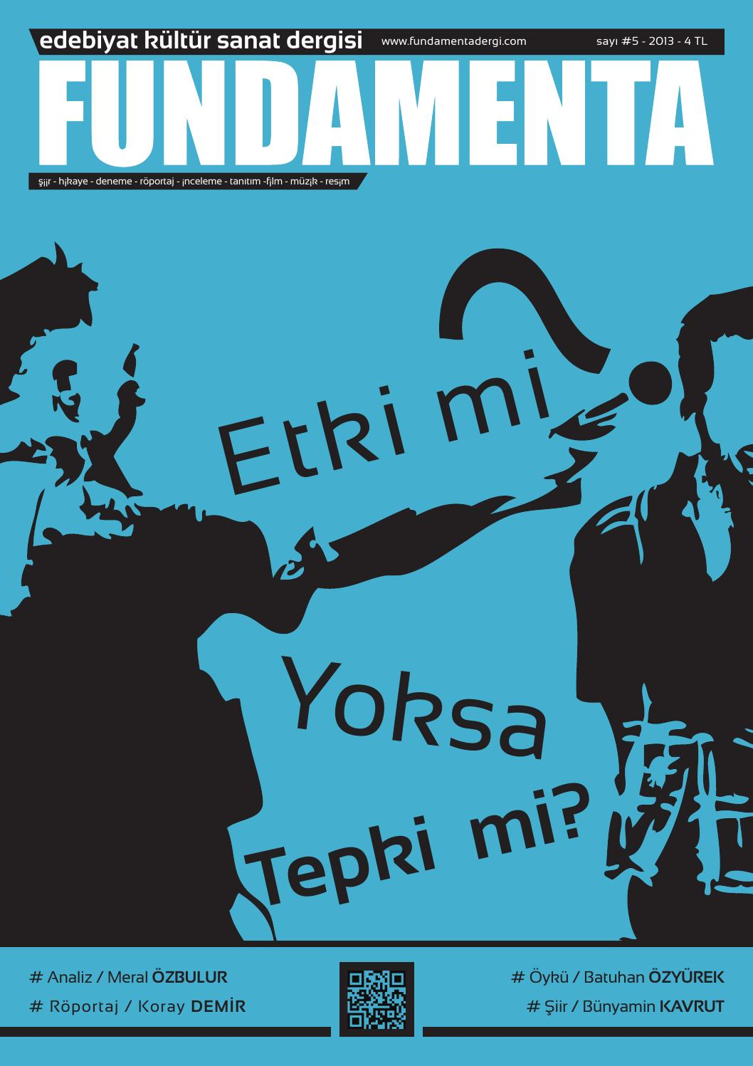Fundamenta Dergisi 5. Sayı by fundamenta dergi - issuu