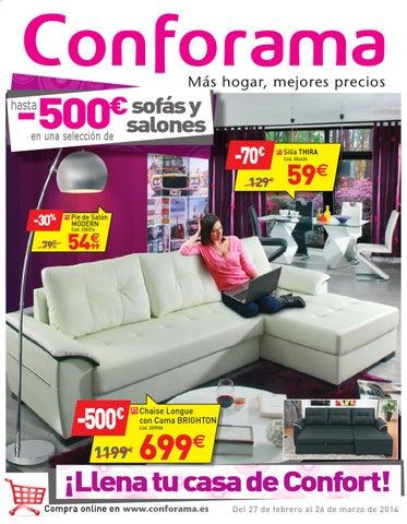 conforama catalogo 27febrero 26marzo2014catalogopromociones