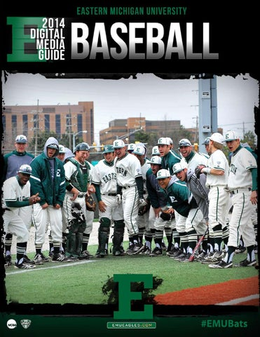 ebc6aa877 2014 EMU Baseball Media Guide by Eastern Michigan University ...