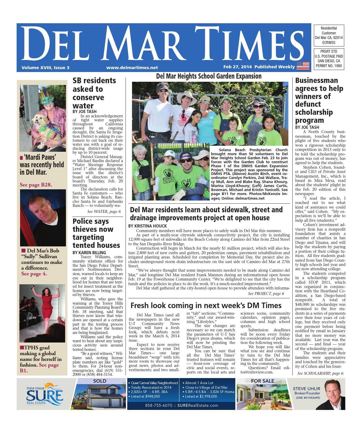 foto de Del mar times 2 27 14 by MainStreet Media - issuu