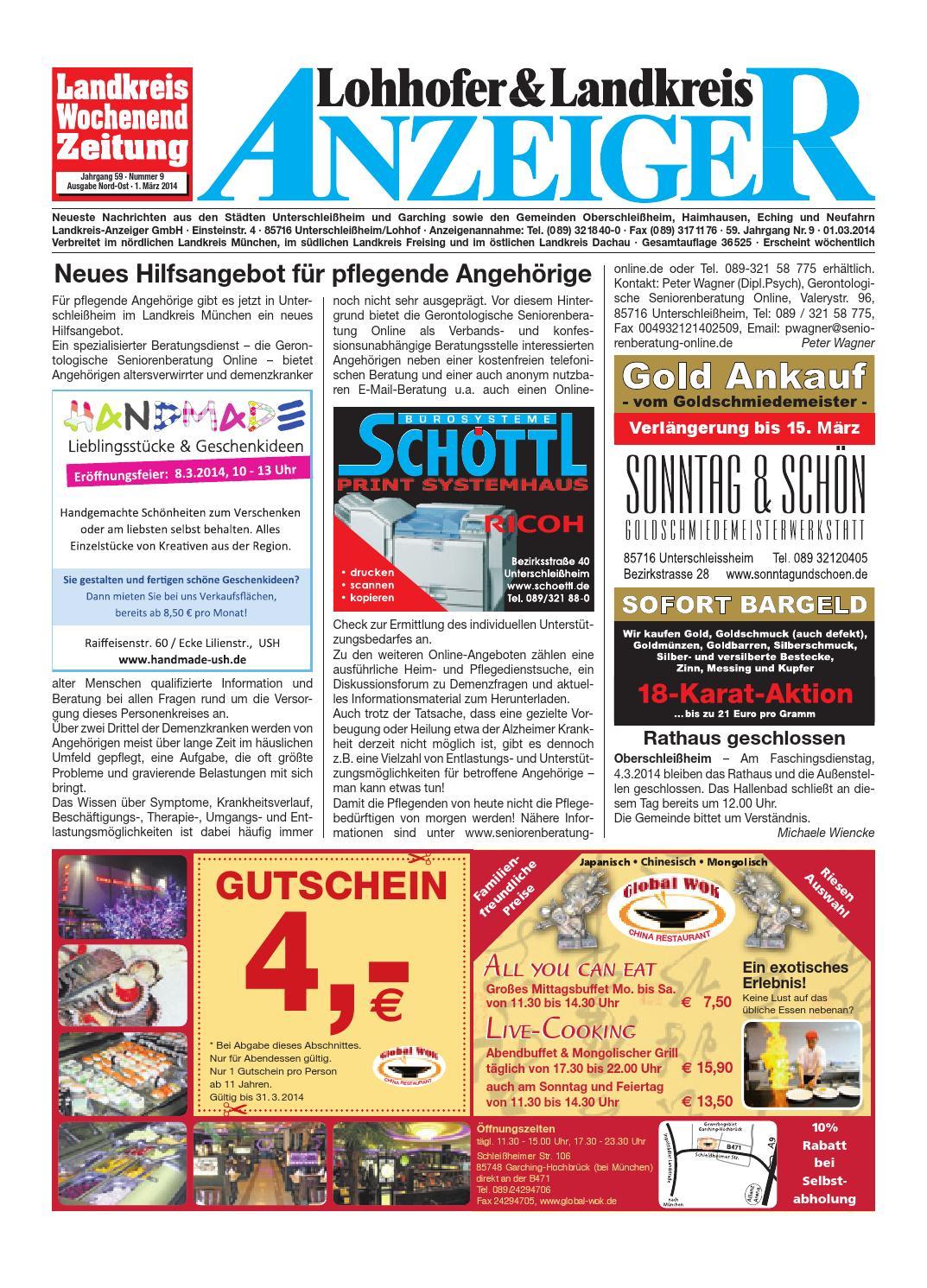 Lohhofer & Landkreis Anzeiger 09 by Zimmermann GmbH Druck & Verlag - issuu
