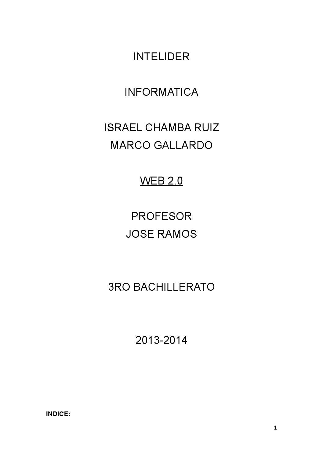 Web 2 para imprimir by Eduardo Chamba Cuesta - issuu