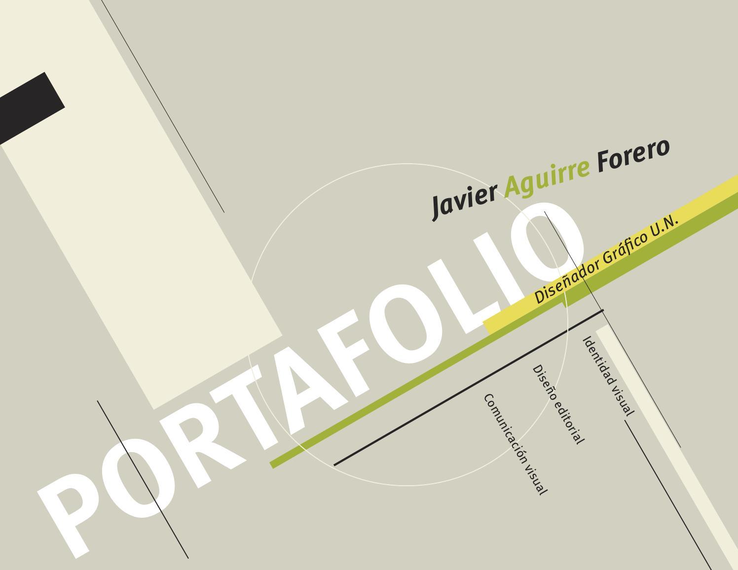 Portafolio de trabajos en diseño grafico by Javier Aguirre Forero ...