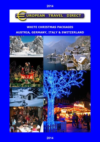 White Christmas In Germany.European White Christmas Packages 2014 By European Travel