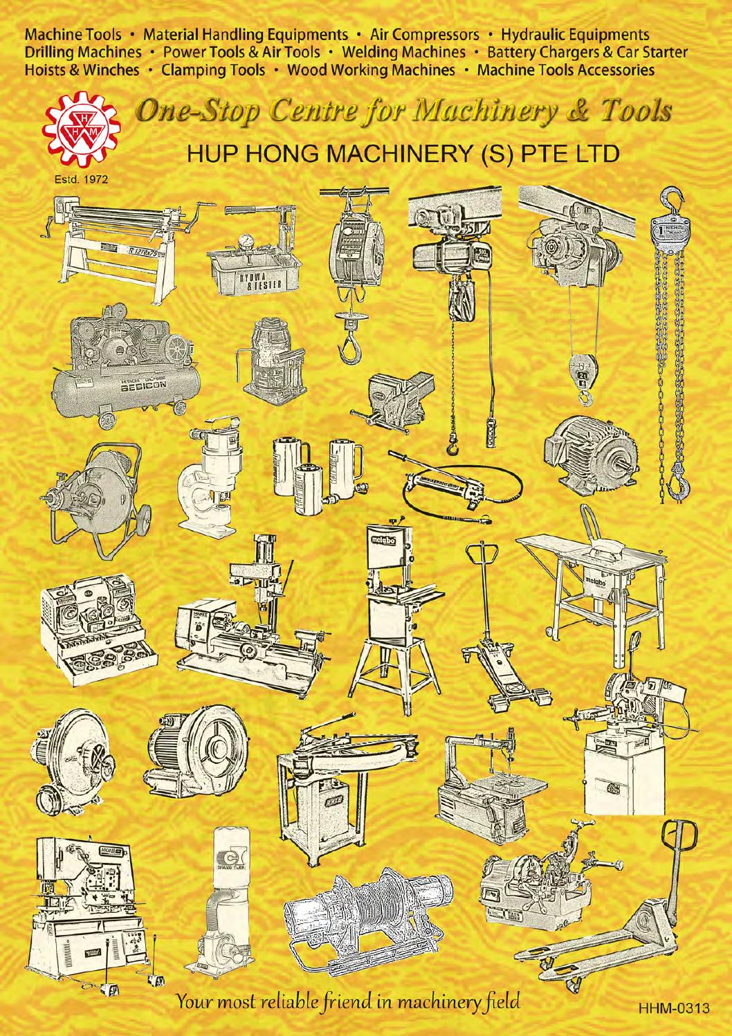 Hup Hong Catalog October 2013 By Wong Sui Issuu Cordless Disc Grinder 115 Mm Hitachi G 18dl
