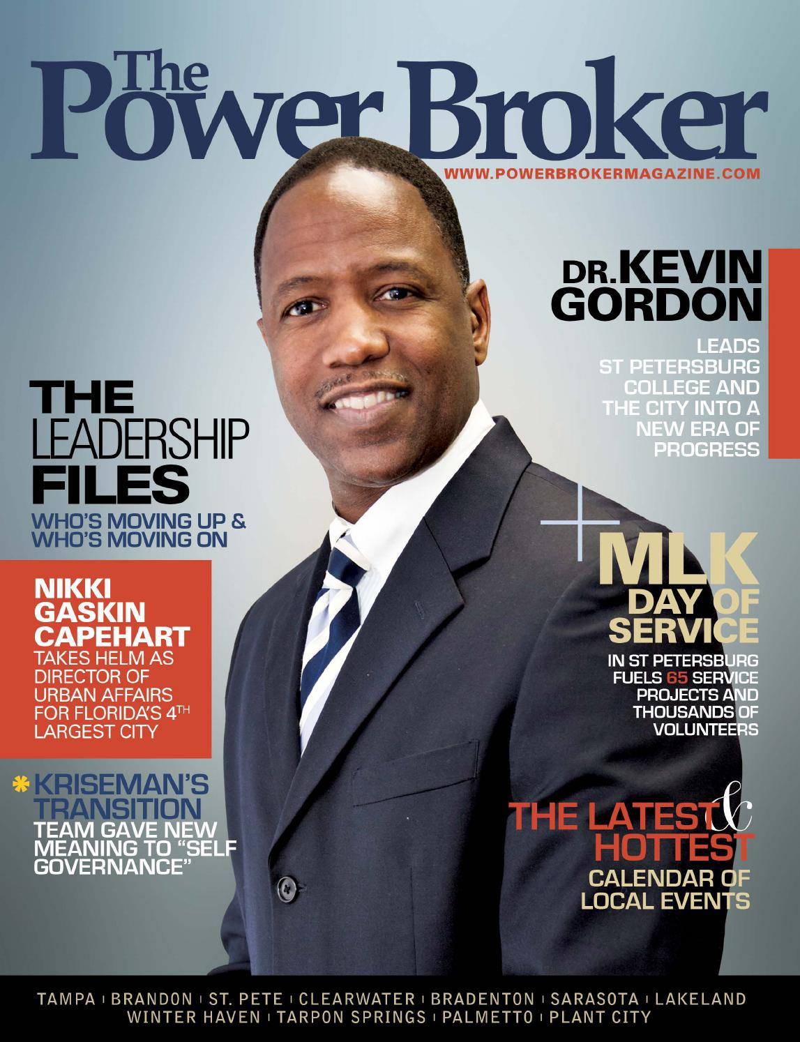 The Power Broker magazine FebruaryMarch 2014 by Gypsy Gallardo