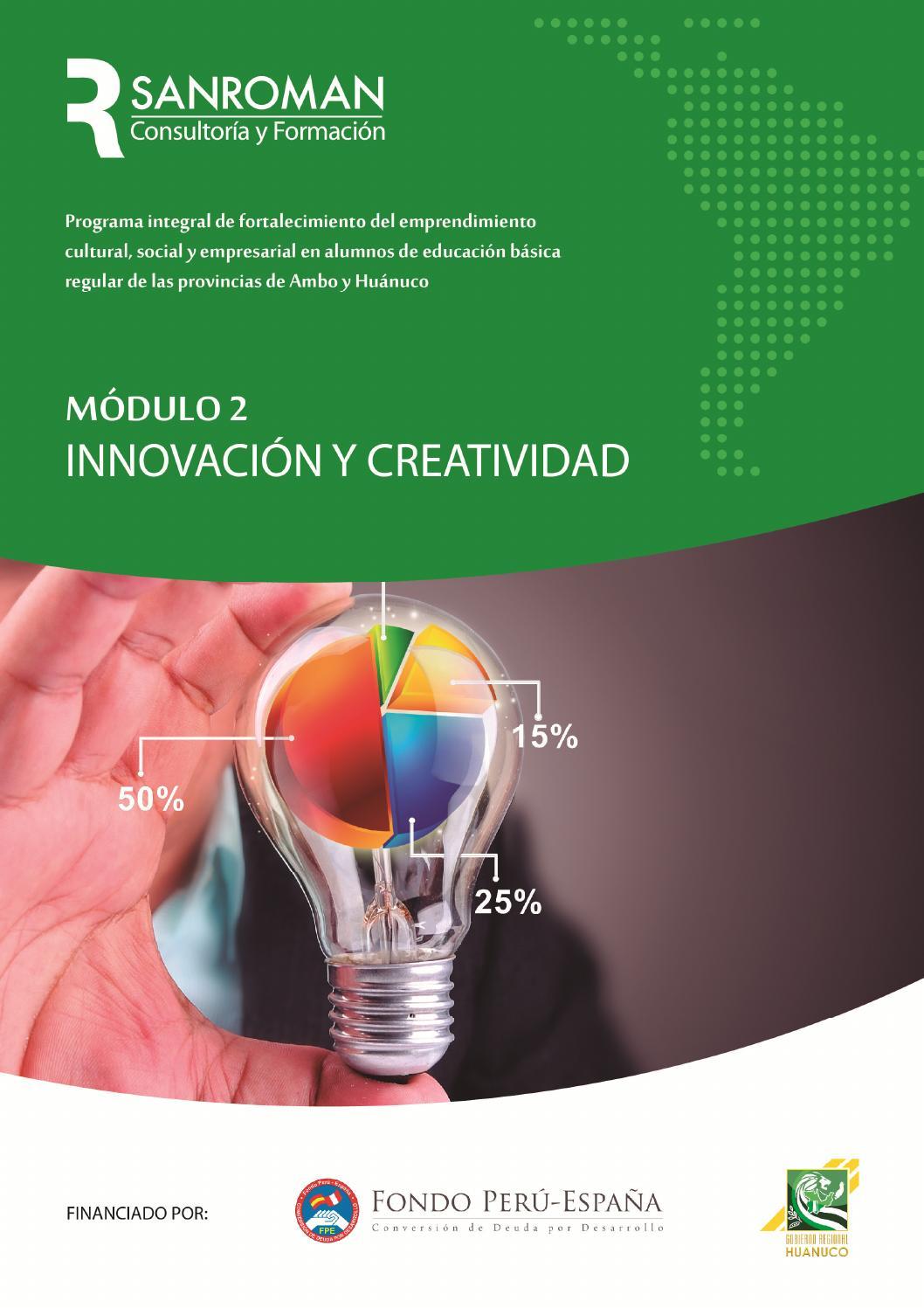 Manual de Innovación y Creatividad by sanromanempresas - issuu