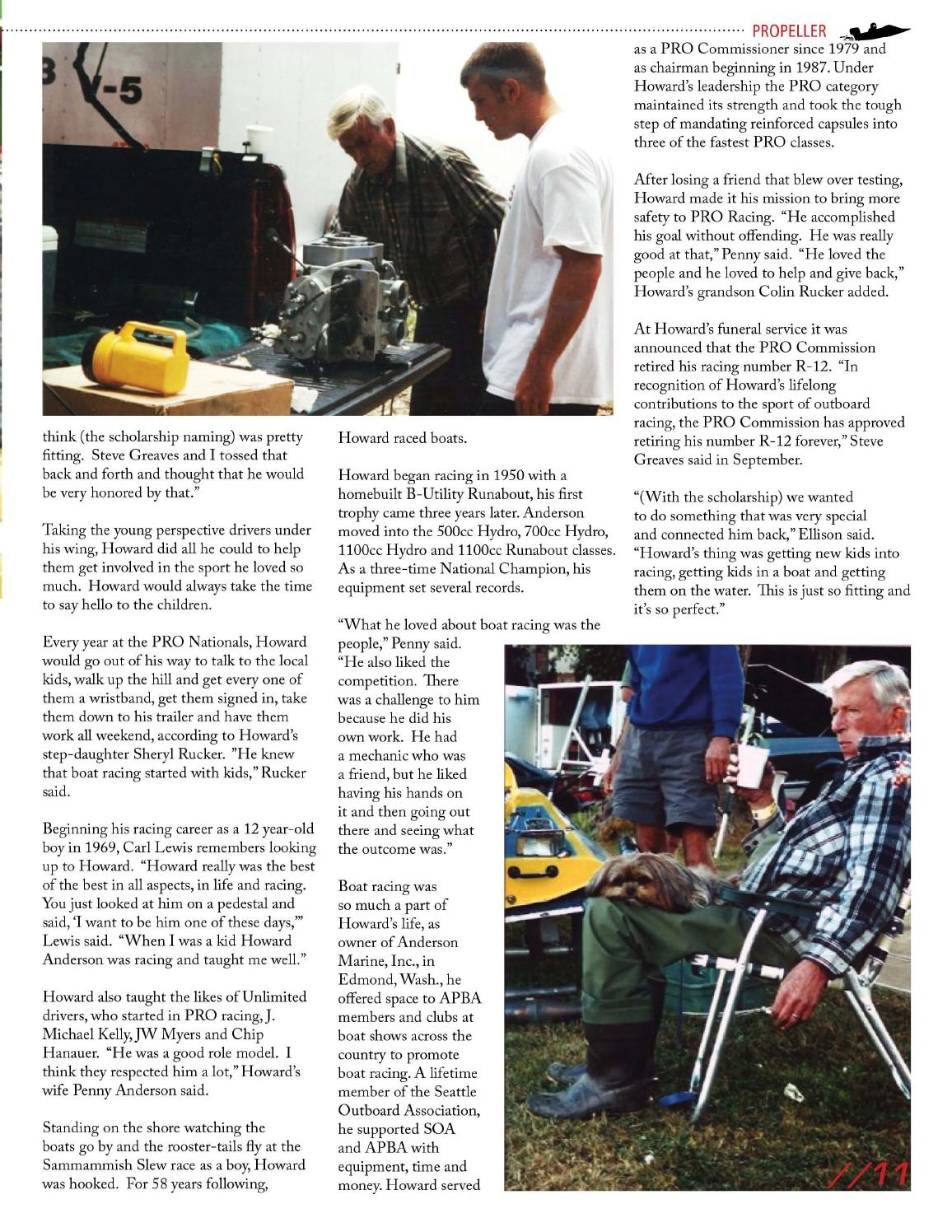 Propeller Magazine March 2014 by APBA - issuu