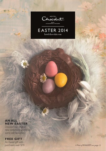 Hotel chocolat easter usa catalouge by hotel chocolat issuu e a s t e r 2 014 hotelchocolat negle Gallery