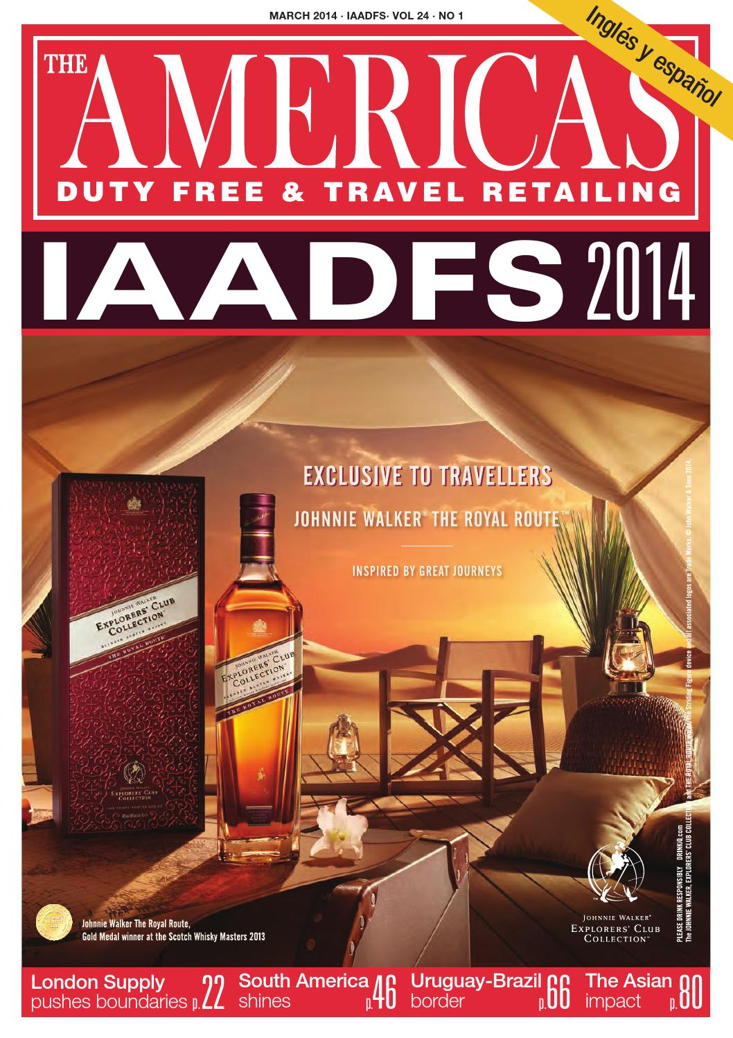 Americas Duty Free Travel Retailing Magazine Iaadfs March 2014  # Muebles Janine Bogota