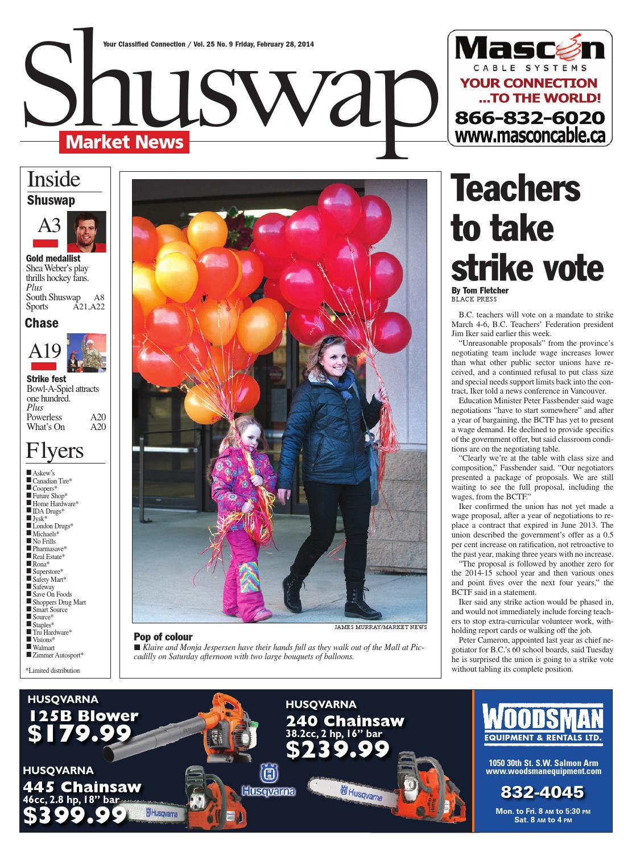 Salmon Arm Observer February 28 2014 By Black Press Media Group Issuu