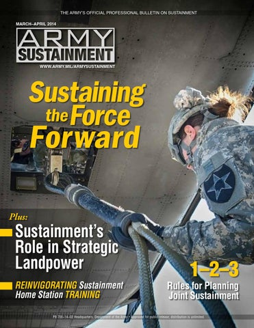 Army Sustainment March-April 2014 by Army Sustainment - issuu