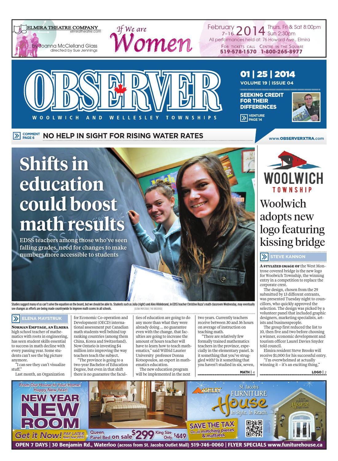 JANUARY 25, 2014 by Woolwich Observer - issuu