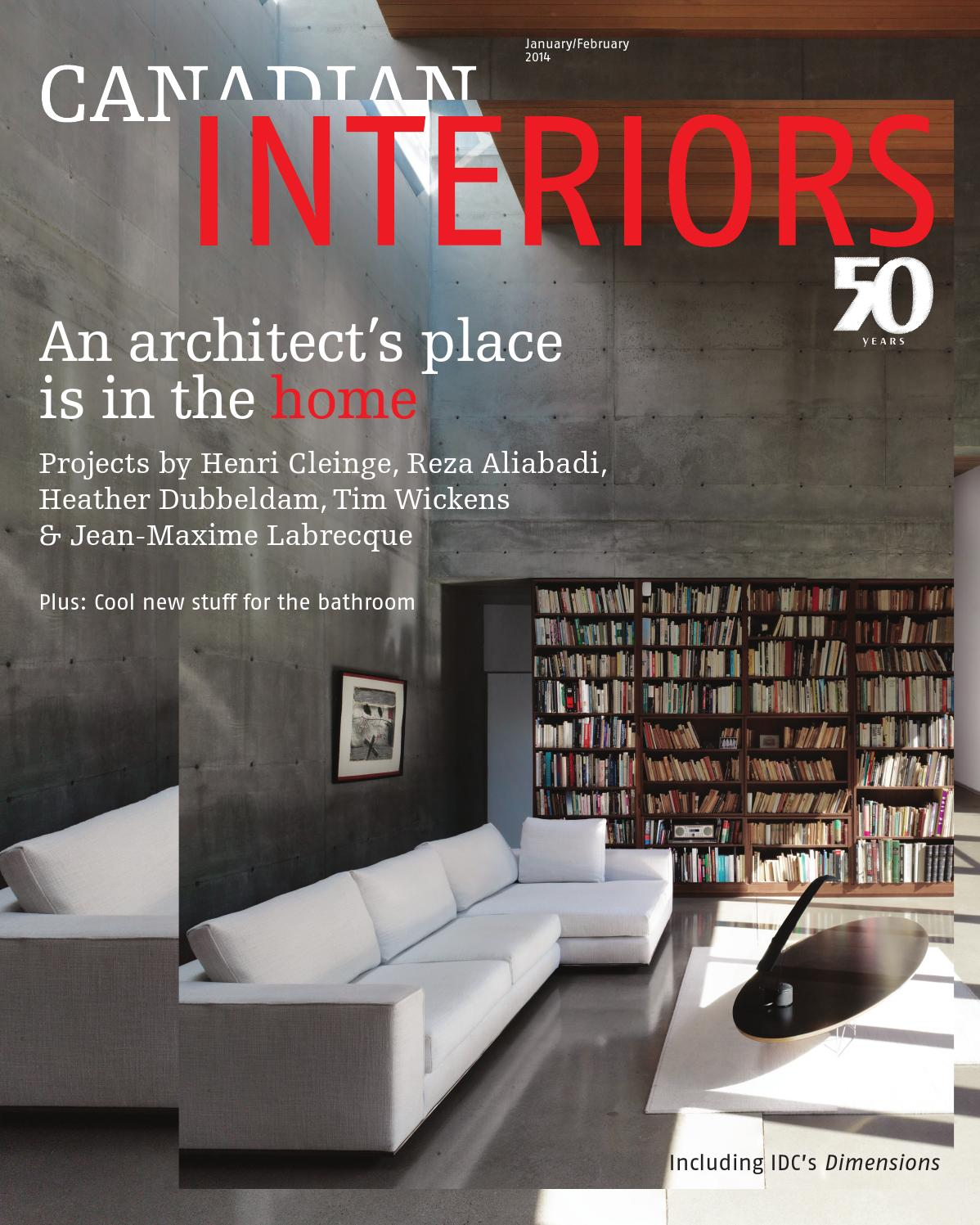 Prix Corian Au M2 canadianinteriorsjanfeb2014annex business media - issuu