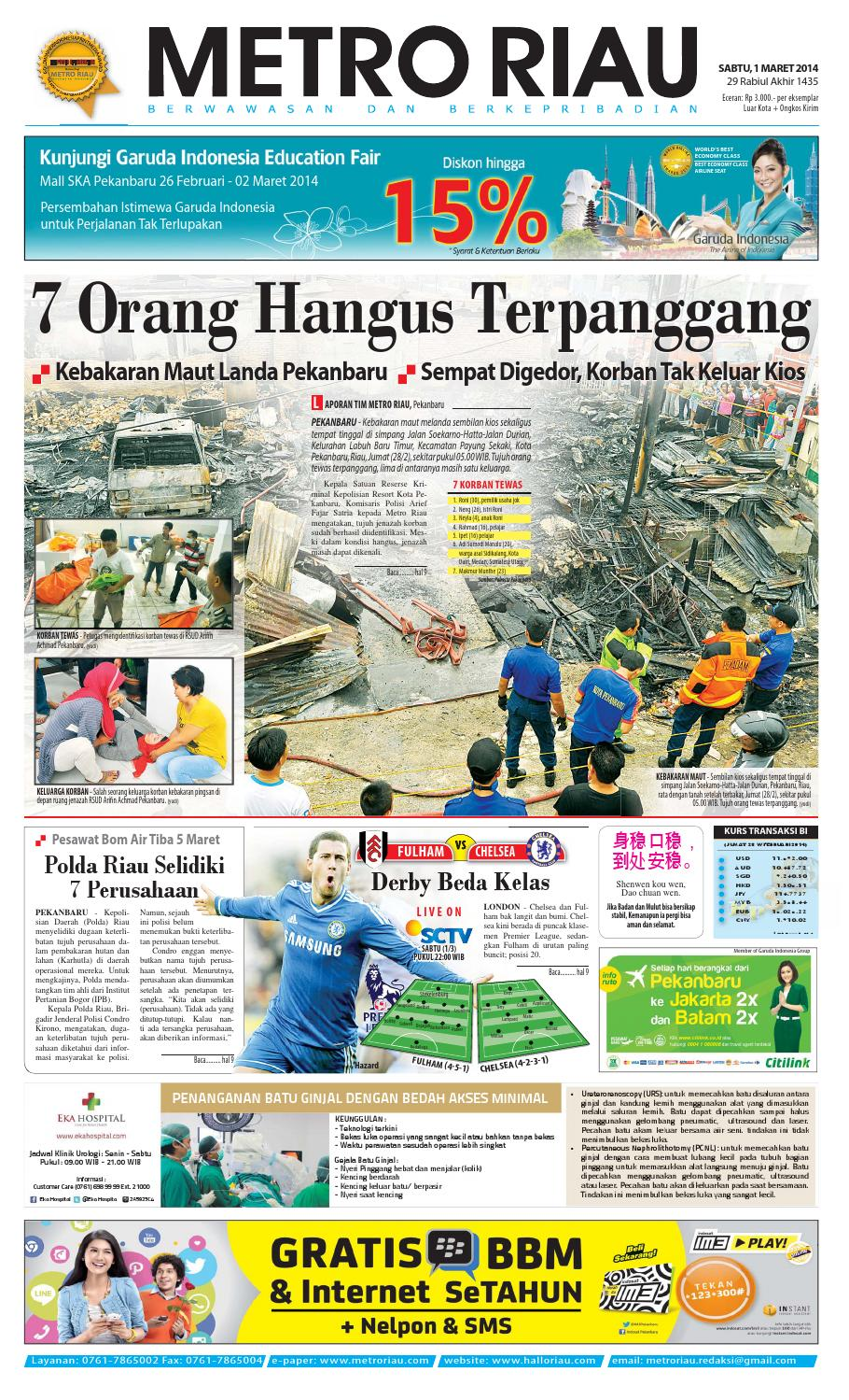 010314 By Harian Pagi Metro Riau Issuu Mercedes Benz E 250 Cabriolet 4 Pintu Karpet Mobil Comfort Deluxe 12mm Car Mat Full Set