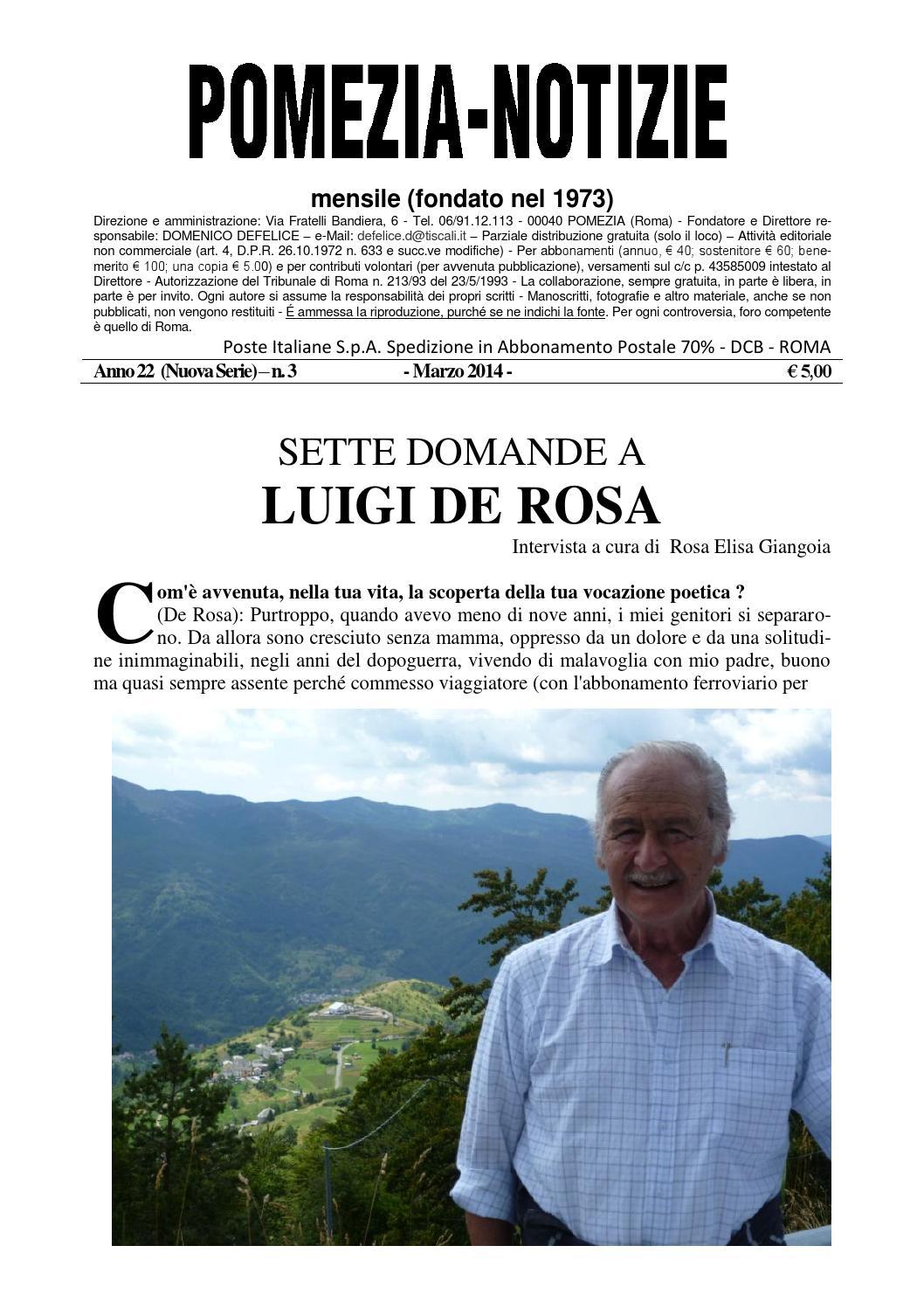 Pomezia Notizie 2014 3 by Domenico - issuu d6f67f13e78a