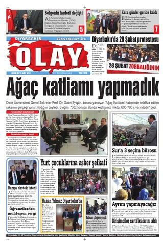 01 03 2014 Gazete Sayfalari By Diyarbakir Olaygazetesi Issuu