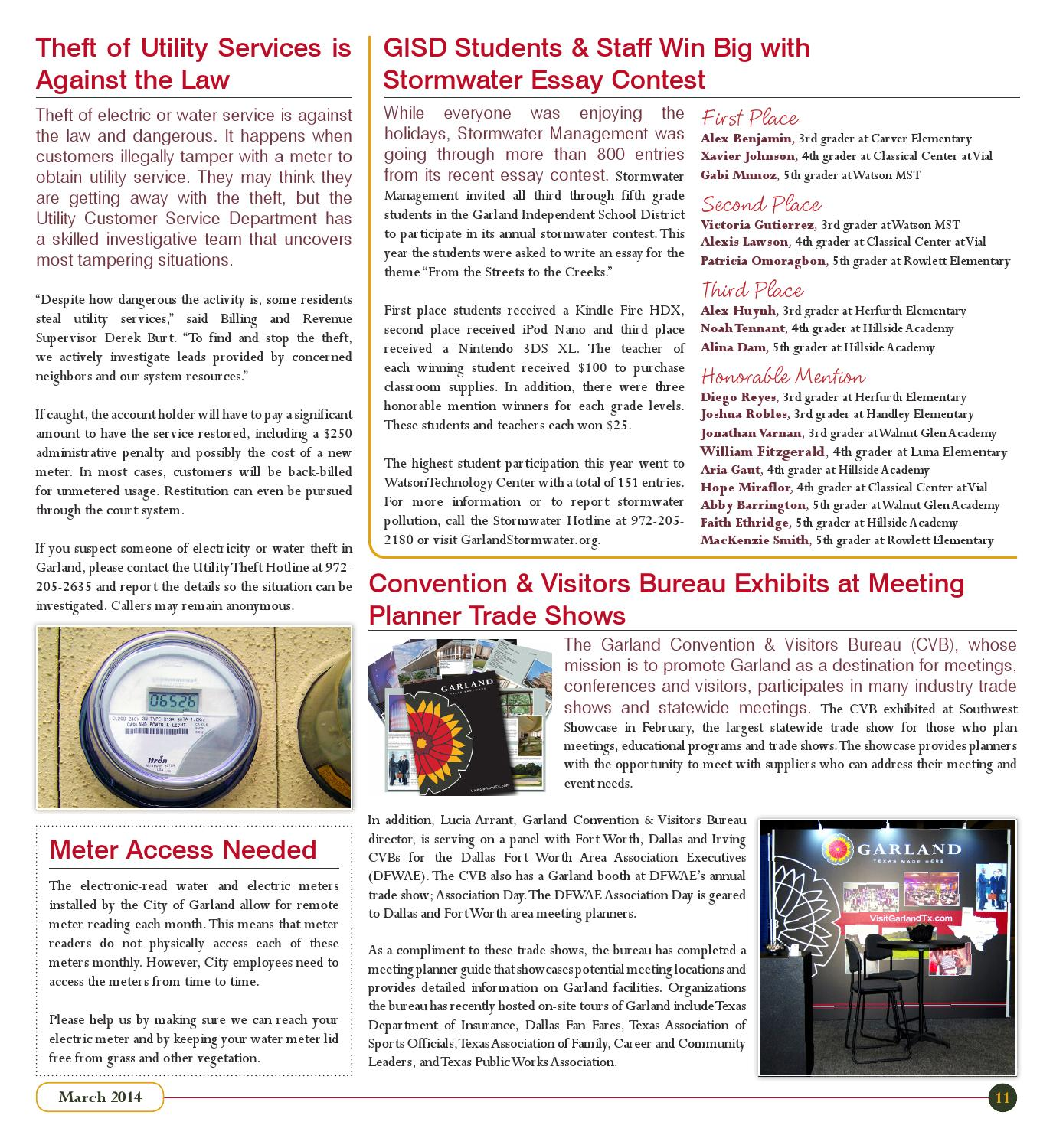 Garland City Press (March 2014) by City of Garland, Texas