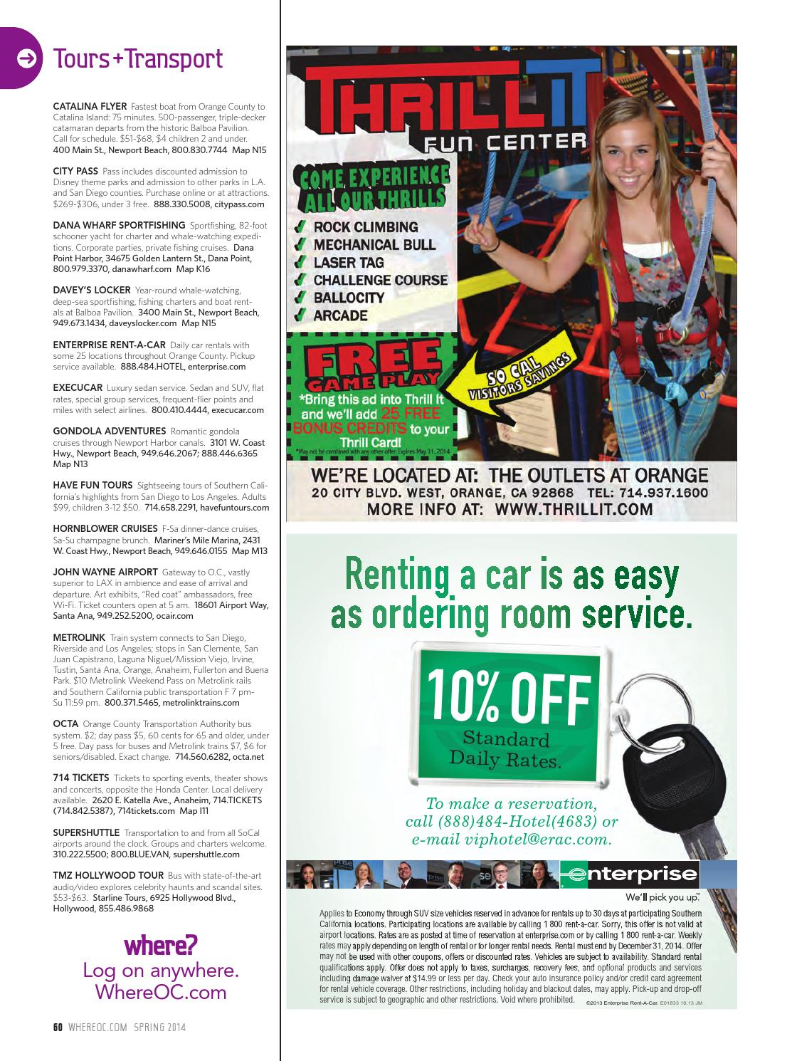 Where Orange County Magazine Spring 2014 By Socalmedia Issuu