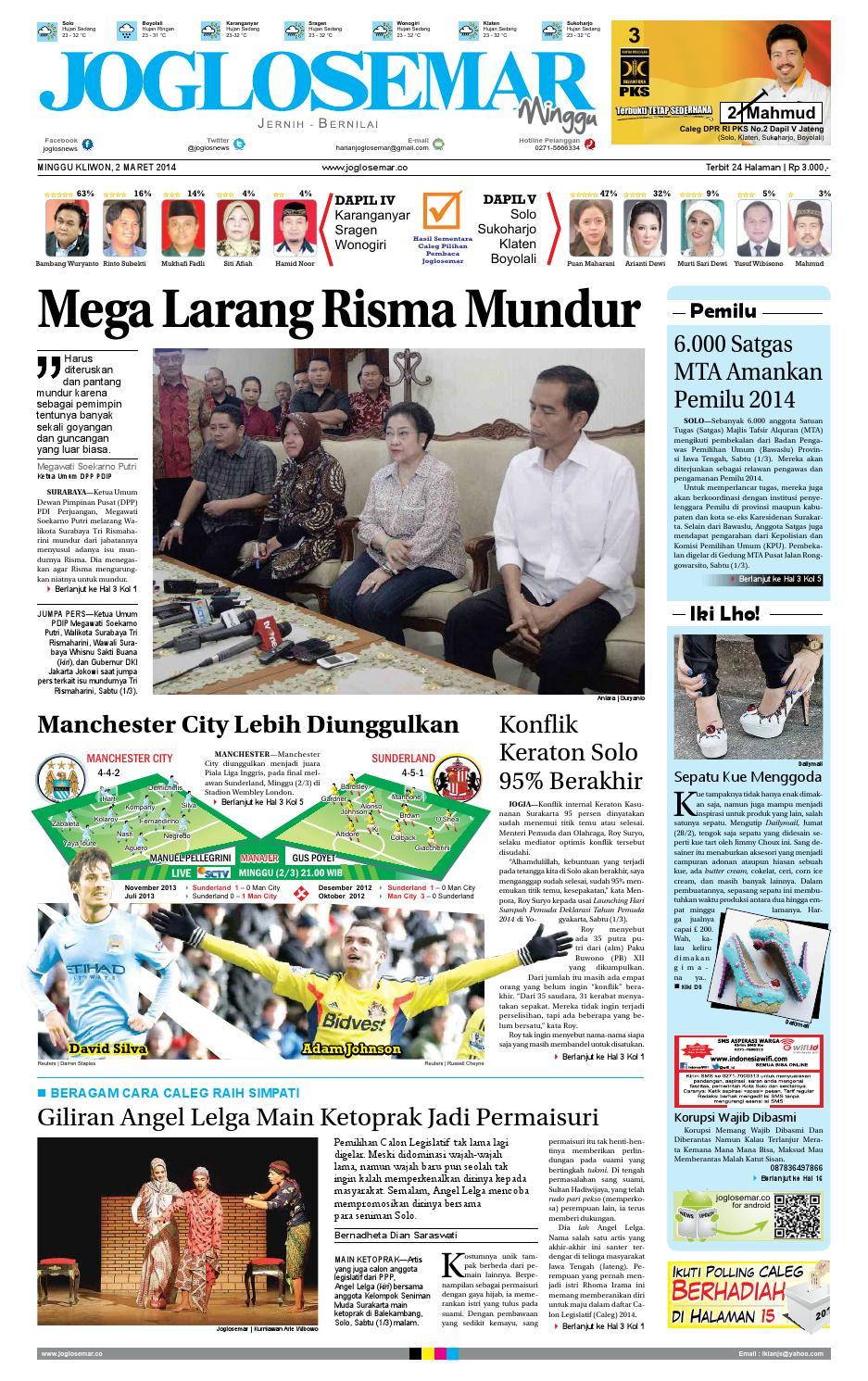Epaper Edisi 02 Maret 2014 By PT Joglosemar Prima Media Issuu