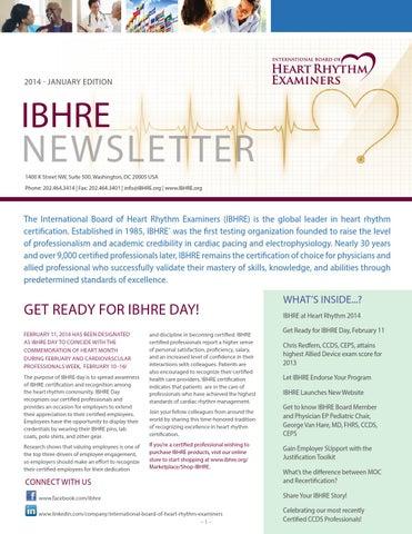 IBHRE 2014 January Newsletter by spatel - issuu