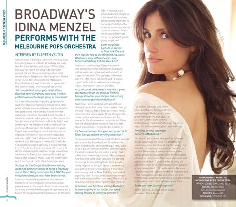 broadway s idina menzel performs with the melbourne pops